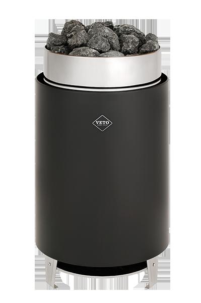 Veto electric sauna heater black