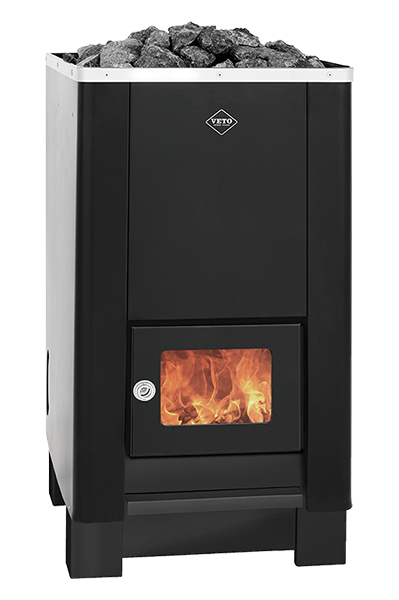 Veto wood burning sauna stove